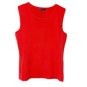 Exclusively Misook size PS sleeveless top sorbet